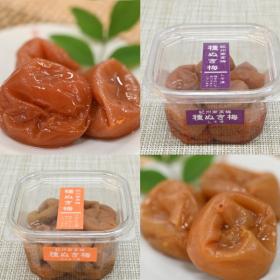 「種抜き梅(しそ漬・はちみつ漬)(川辺食品株式会社)」の商品画像