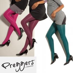 Preggersマタニティ段階式着圧カラータイツの商品画像