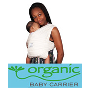 「抱っこひも Baby K'tan ベビーキャリア オーガニック ナチュラル(株式会社ファンシ)」の商品画像