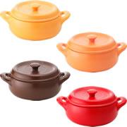 耐熱セラミック鍋「セラウェア」両手鍋21cmの商品画像