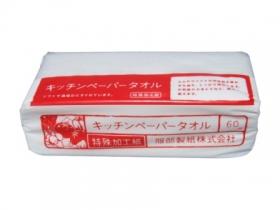 「キッチンペーパー 60W(KEキピ-3) -服部製紙株式会社-(服部製紙株式会社)」の商品画像