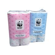 「パンダペーパー12RW アソートセット(ブルー&ピンク)(服部製紙株式会社)」の商品画像