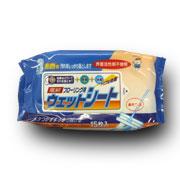 「電解フローリングクリーナー 15枚入(服部製紙株式会社)」の商品画像