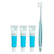 「オーラパールミニサイズ3本+イオンケア歯ブラシ1本(全薬販売株式会社)」の商品画像