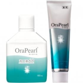 薬用歯みがきオーラパール & オーラパール洗口液6.8の商品画像