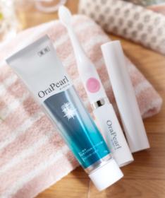 薬用歯みがきオーラパール & 音波電動歯ブラシの商品画像