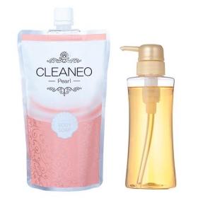 【CLEANEO】美肌サポートプレミアム保湿パールボディーソープの商品画像