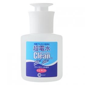 「安全・無臭水の洗剤 驚異の除菌洗浄効果超電水クリーンシュ!シュ!プッシュボトル(株式会社ケミコート)」の商品画像