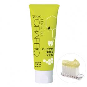株式会社エーエフシーの取り扱い商品「オーラプロ 歯磨きジェル 80g」の画像