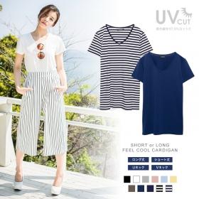 【着る日焼け止め】ベーシックなデザインの半袖Tシャツの商品画像