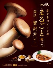 ホクトのエリンギ まるごと使った菌活・贅沢カレー(1人前/200g/中辛)の商品画像