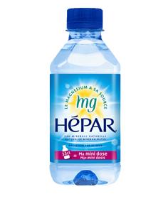 「ミニボトル数量限定入荷!【超硬水 HEPAR(エパー)330ml×24本】(株式会社大香 )」の商品画像