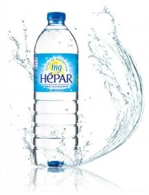 フランス産まれの大人の硬水で、内側からきれいに。HEPAR(エパー)1L×12本の商品画像