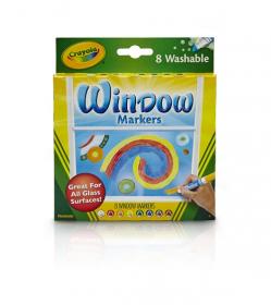 クレヨラ ウインドウマーカー 8色の商品画像