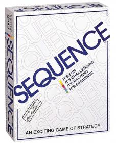 シークエンス Sequence 米国発 】五並べ ボードゲーム 8002 正規品の商品画像