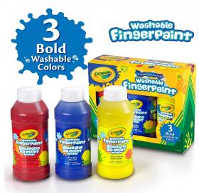 クレヨラ!!水でおとせるフィンガーペイント 3色セットの商品画像