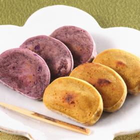 【長崎五島ごと】ごと芋かんころ餅10本(ごと芋5本&紫芋5本)セットの商品画像