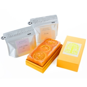 「【母の日の贈りもの】柑橘薫るケーキ&紅茶セット(株式会社アンデルセン)」の商品画像