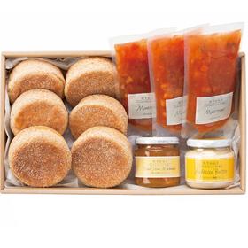 「イングリッシュマフィンの朝食セット(株式会社アンデルセン)」の商品画像