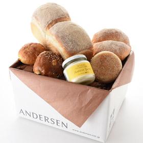 「【会員様限定・送料込】ブレッド&オリジナル醗酵バター(株式会社アンデルセン)」の商品画像