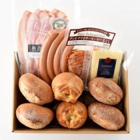 株式会社アンデルセンの取り扱い商品「【ブランチに!】プチパン&デリサンドセット 」の画像