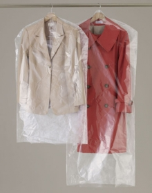 「クリーニング屋さんの洋服カバーS 20枚入(収納の巣(株式会社テンネット))」の商品画像