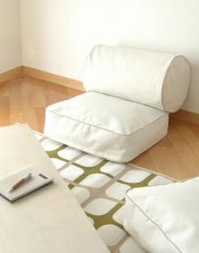 クッションになる寝具ケース・ラウンド&スクエア◆新生活、引越し、衣替え、寝具収納の商品画像