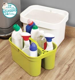 「ジョゼフジョゼフ/クリーン&ストア*洗剤ストッカーとバケツのセットアップ収納(収納の巣(株式会社テンネット))」の商品画像