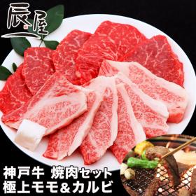 神戸牛 焼肉セット 極上モモ&カルビの商品画像