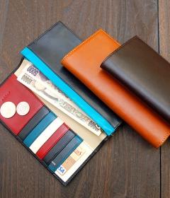 オーダーメイドの本革長財布 (名入れ無料) | JOGGO の商品画像