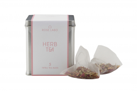 ROSE HERB TEA 5 TETRA BAGSの商品画像