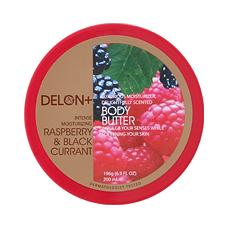 「ボディバター ラズベリー&カシス(196g)【デロン(DELON)】(株式会社ベジトリー)」の商品画像
