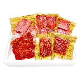 鹿児島黒牛 小田牛 おうち焼肉セット 550g 〔全5種 ソース・食塩付〕の商品画像