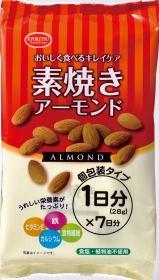 「素焼きアーモンド 7P(共立食品株式会社)」の商品画像