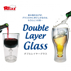DOUBLE LAYER GLASS/ダブルレイヤーグラスの商品画像