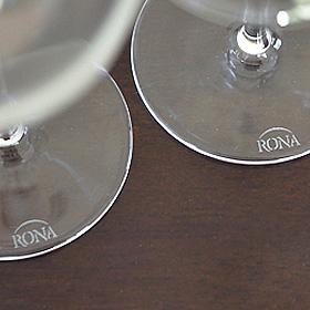「ロナ(RONA)クリスタルガラス(ブランド洋食器専門店 ル・ノーブル(Le-noble))」の商品画像の4枚目