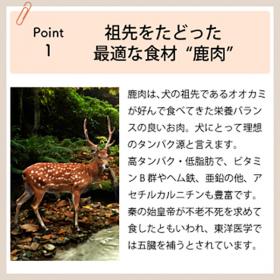 「DOGSTANCE 鹿肉プロミックス(株式会社プロ・アクティブ)」の商品画像の2枚目