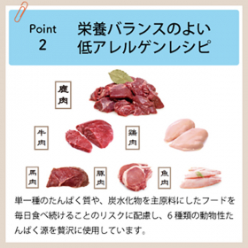 「DOGSTANCE 鹿肉プロミックス(株式会社プロ・アクティブ)」の商品画像の3枚目