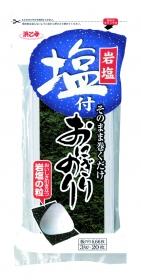 「塩付おにぎりのり(株式会社浜乙女)」の商品画像