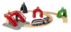 ブリオジャパン株式会社の取り扱い商品「BRIO World スマートテックアクショントンネルトラベルセット」の画像