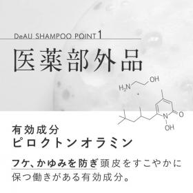 「DeAU スカルプシャンプー 500ml(株式会社エクセレントメディカル)」の商品画像の2枚目