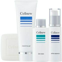 「セルニュー にきびケア 基礎化粧品4点セット『洗顔石鹸タイプ』(株式会社エクセレントメディカル)」の商品画像