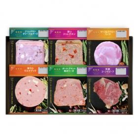 「三ツ星サラダバル 6種お試しセット(大山ハム株式会社)」の商品画像