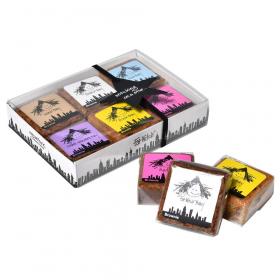 リボン食品株式会社の取り扱い商品「ファットウィッチベーカリー BASICSブラウニー6個入り」の画像