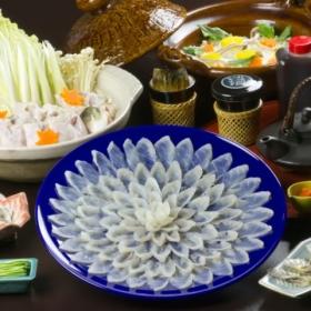 日本料理てら岡の天然とらふぐの商品画像