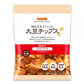 「大豆チップス トマトバジル(株式会社ビオクラ食養本社)」の商品画像