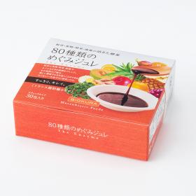 「80種類のめぐみジュレ(3.5g×30包)(株式会社ビオクラ食養本社)」の商品画像