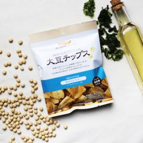 「大豆チップス あおさビネガー(株式会社ビオクラ食養本社)」の商品画像の2枚目