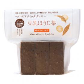 マクロビオティッククッキー 豆乳ほうじ茶の商品画像