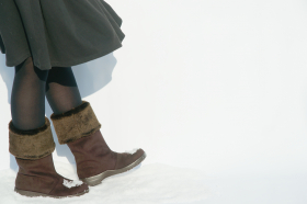 アサヒシューズ株式会社の取り扱い商品「濡れない♪ムレにくい♪すべりにくい♪ロングブーツ トップドライ TDY39-10」の画像